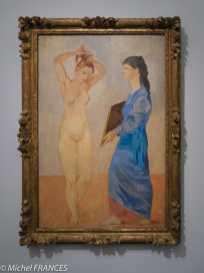 musée d'Orsay, exposition Picasso rose et bleu - La toilette - 1906