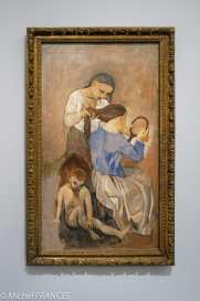 musée d'Orsay, exposition Picasso rose et bleu - La coiffure - 1906