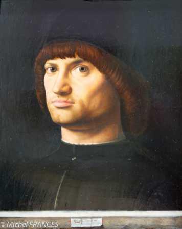 Antonello da Messina - Portrait d'homme, dit le Condottiere - 1475
