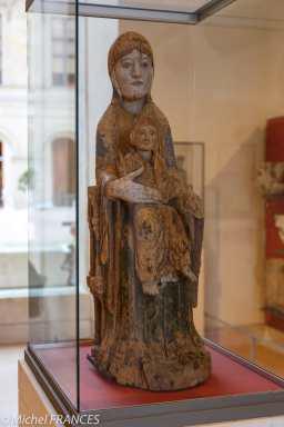 Vierge et l'Enfant - Recto