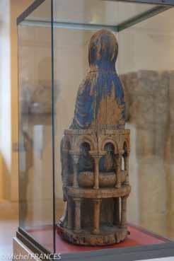Vierge et l'Enfant - Verso - Admirez le détail