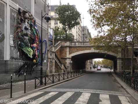 Bordalo II - Castor, rue du Chevaleret, Paris 13