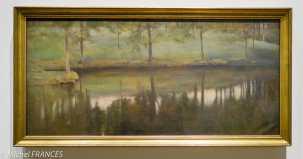 exposition Fernand Khnopff - L'eau immobile - 1894