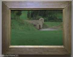 exposition Fernand Khnopff - Le pont à Fosset - 1897