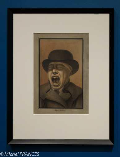 exposition Jean-Jacques Lequeu - Le grand bâilleur