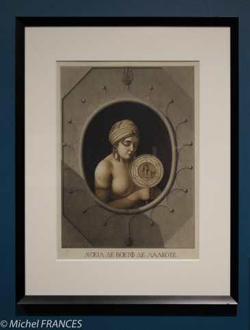exposition Jean-Jacques Lequeu - L'œil de bœuf de l'alcôve - 1797-1798