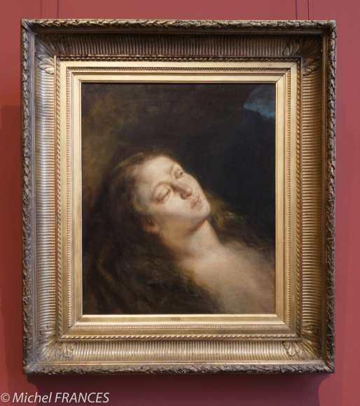 musée Delacroix - expo Delacroix et Eugène - Madeleine au désert - 1845