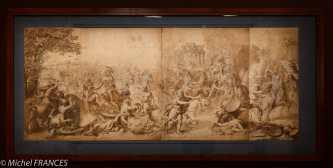 exposition Graver pour le Roi - Anonyme d'après Charles Le Brun - La bataille d'Arbelles - vers 1665-1673
