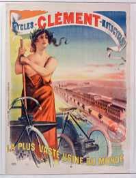 Titre : Cycles Clément motocycles la plus vaste usine du monde : [affiche] / [Pal] Auteur : Pal (1855-1942). Illustrateur Éditeur : [s.n.][s.n.] Éditeur : [imp Paul Dupont] ([Paris]) Date d'édition : 1899 Sujet : Bicyclettes -- Publicité Sujet : Cycles et motocycles Type : image fixe Type : estampe Langue : français Format : 1 est. : lithogr. en coul. ; 152 x 110 cm Format : image/jpeg Format : Nombre total de vues : 1 Description : Affiche Droits : domaine public Identifiant : ark:/12148/btv1b9011444f Source : Bibliothèque nationale de France, ENT DN-1 (PAL/6)-GRAND ROUL Notice du catalogue : http://catalogue.bnf.fr/ark:/12148/cb398400344 Provenance : Bibliothèque nationale de France Date de mise en ligne : 18/04/2011