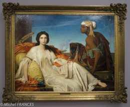 expo Le modèle noir - françois-Léon Bénouville - Esther - salon de 1844