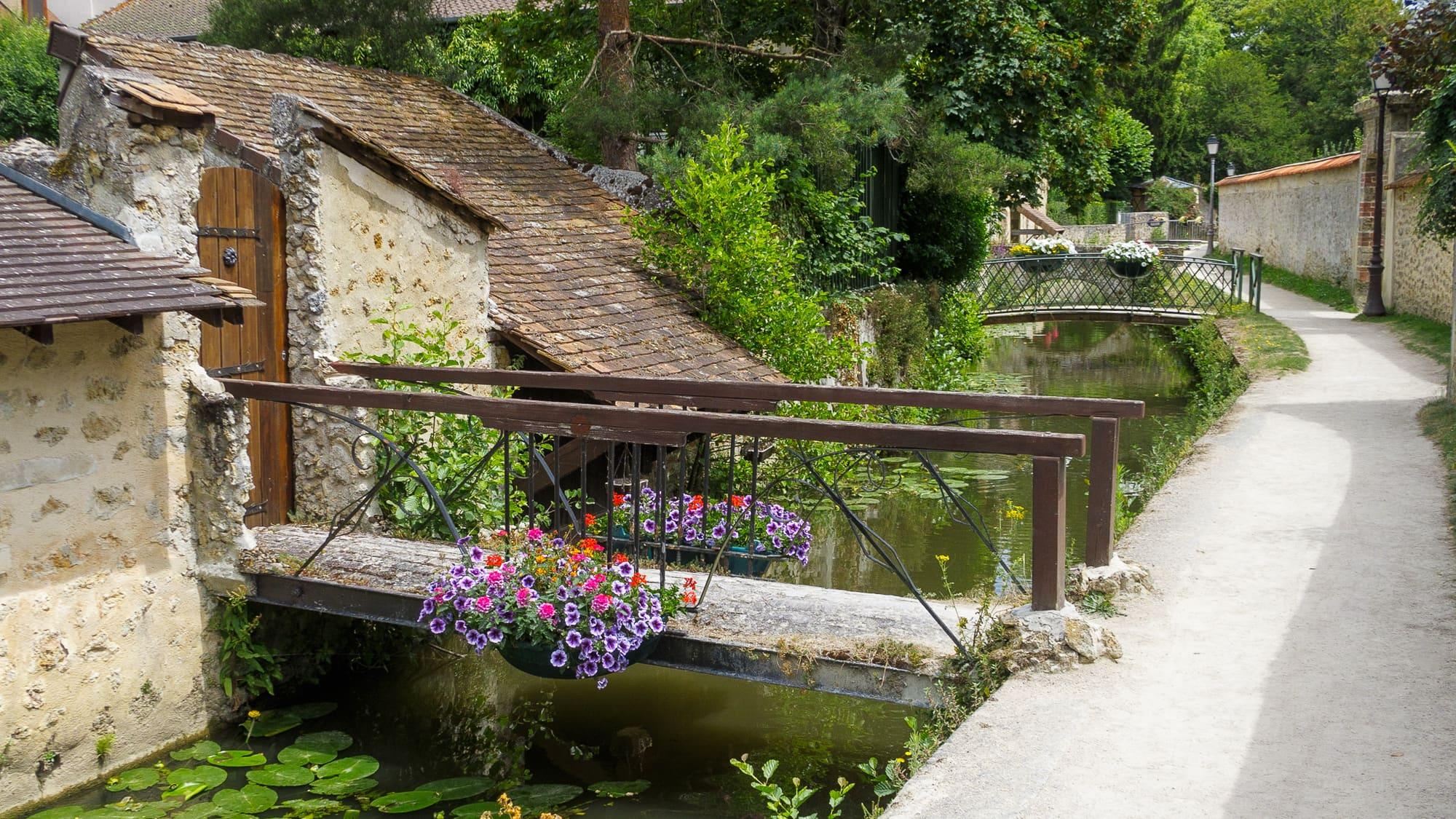 Randonnée Chevreuse Chateau Forêt de la Madeleine