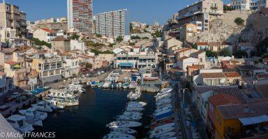 Marseille - Le vallon des Auffes