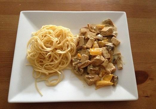 Photo Tofu aux champignons