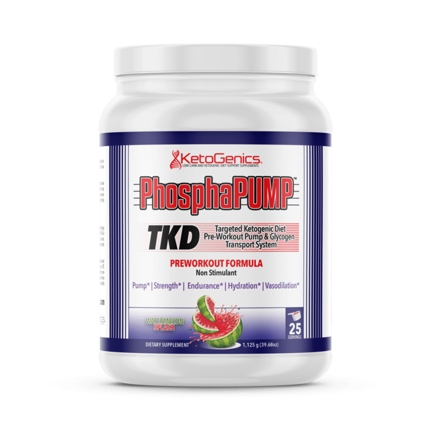 Targeted Ketogenic Diet Pre workout