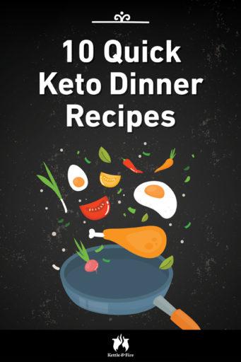 10 Quick Keto Dinner Recipes pin