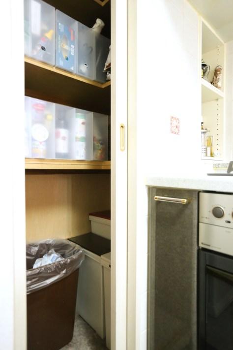 A邸のキッチンがコンパクトでもすっきりしている最大の理由はこれかも!