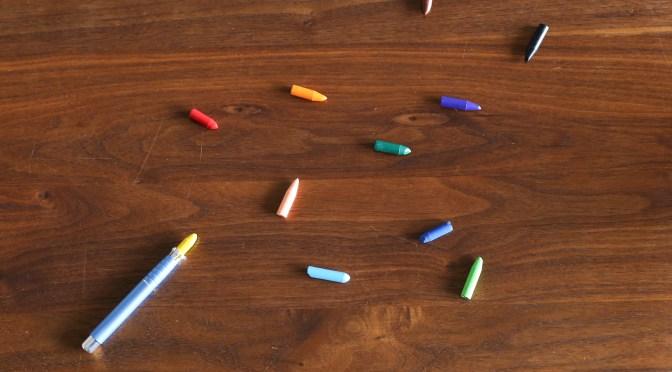 短くなったクーピーや色鉛筆を、長く使うために。