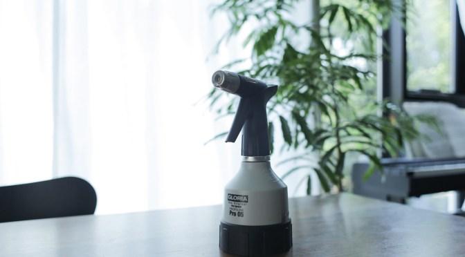 室内&ベランダガーデナー必携の葉水用スプレーボトル