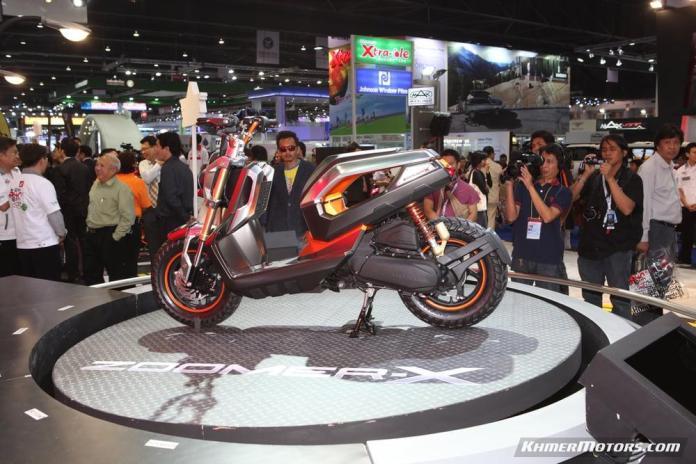 Zoomer-X designs in Honda's Mocye Idea Challenge (125)