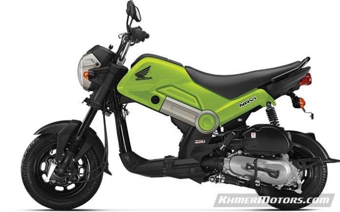 2016-honda-NAVI-green-colour