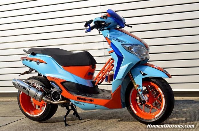Honda Moove custom modified (20)