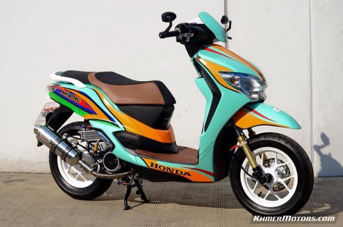Honda Moove custom modified (7)