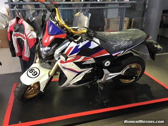 MSX 125cc 2016 mixed Ducati