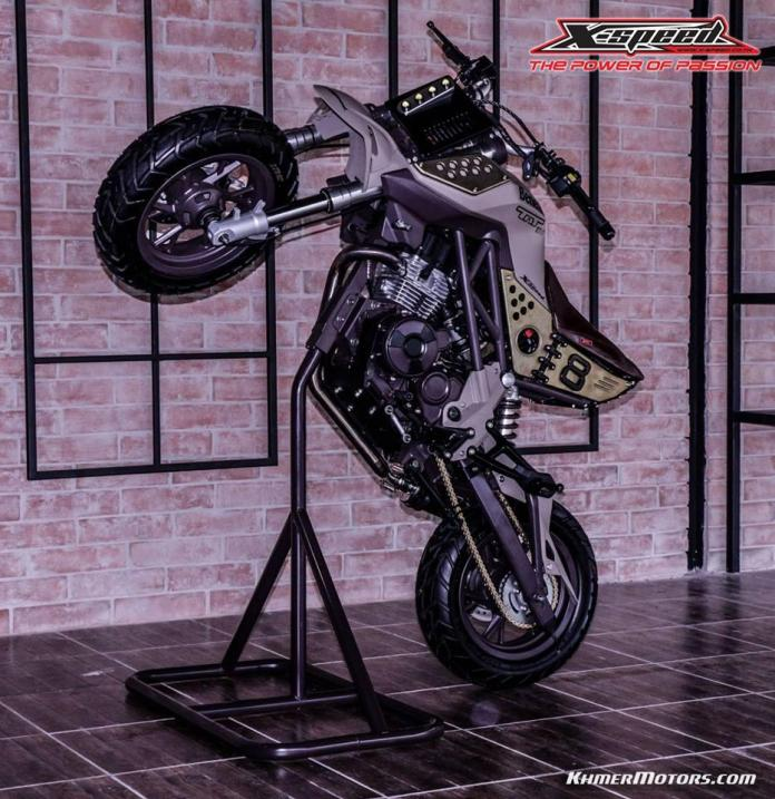 Custom Benelli TNT135 by X-speed - Khmer Motors ខ្មែរ