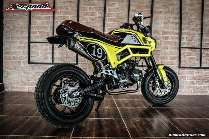 Custom Benelli TNT135 by X-speed - Khmer Motors ខ្មែរ
