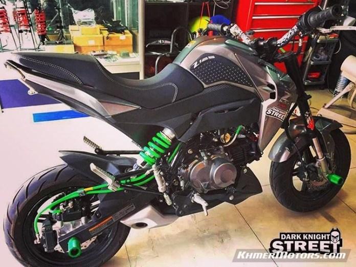 2017 Kawasaki Z125 Pro >> Custom Z125 PRO Modified - Khmer Motors ខ្មែរម៉ូតូ