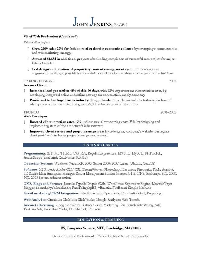 marketing major resume resume sample