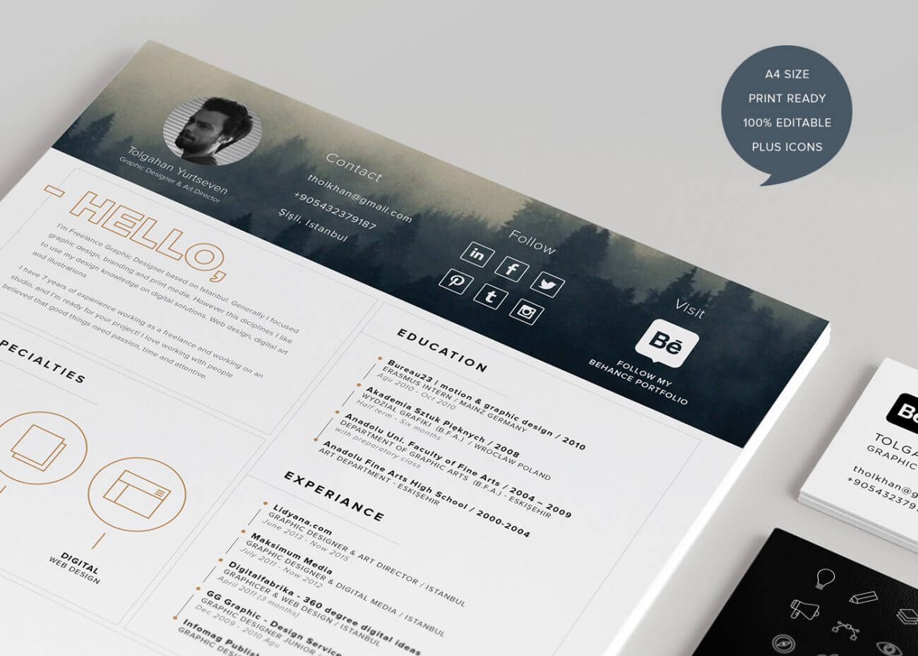 When applying for a job or gaining a new client, the first impression you create is the strongest. 40 Creative Resume Templates You Ll Want To Steal In 2021