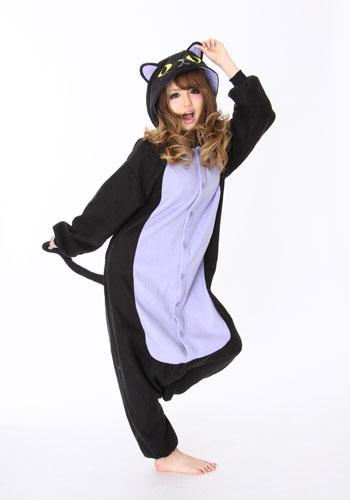 Halloween Black Cat Kigurumi