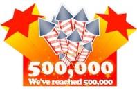 500,000 Posts