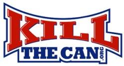 The New KillTheCan.org Logo