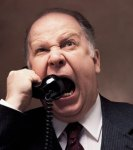 Man On The Phone Yelling At Big Tobacco