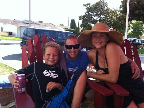 Justin, Marc & Lydie