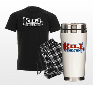 Holiday Gift Items From KillTheCan.org