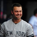 Nick Swisher Is All Smiles When He's Dipping