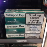 Newport Box - Smoking Causes Ageing Of The Skin