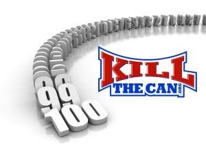 100 Days at KillTheCan