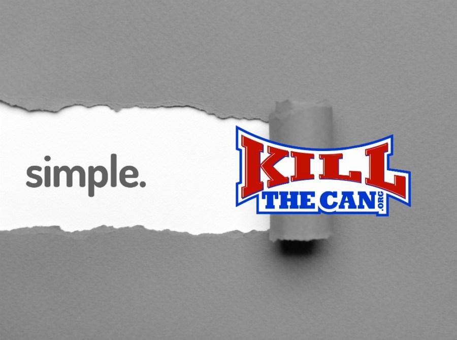 KillTheCan Distilled Simple