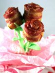 Valentine's Day Bacon Roses
