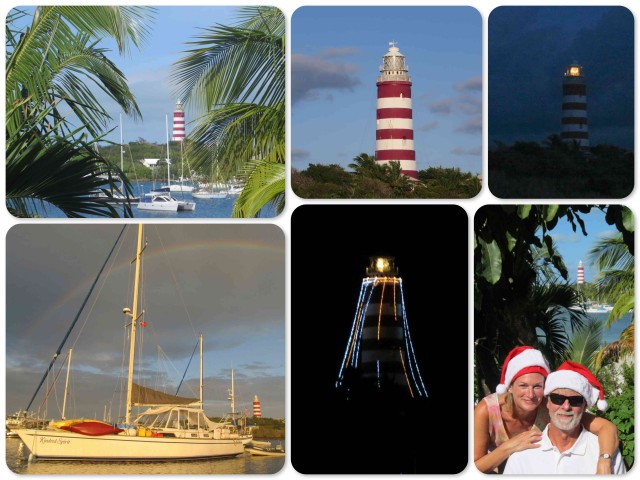 The Hope Town Lighthouse is a part of our daily life now as you can see from the pictures in our blog.