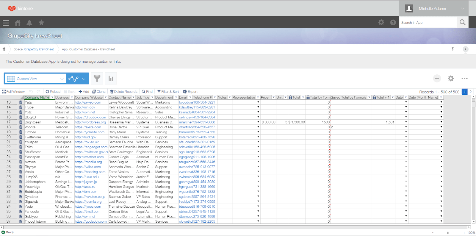 Say Hello To Krewsheet The Kintone Add On For Spreadsheet Enthusiasts