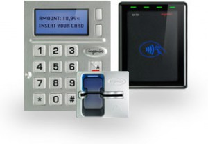 Ingenico kiosk EMV chip and PIN and contactless reader