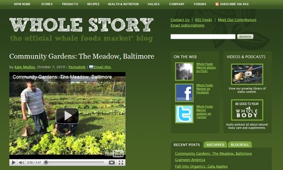 whole story blog