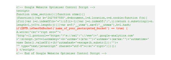 bt buckets code