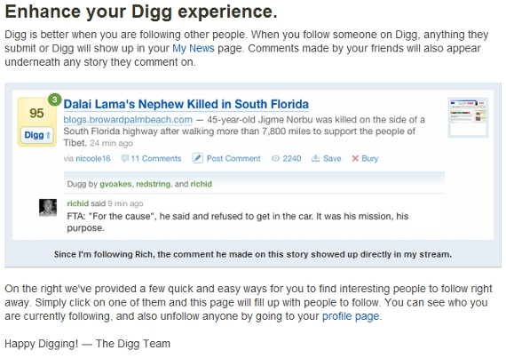 finding people on digg.com