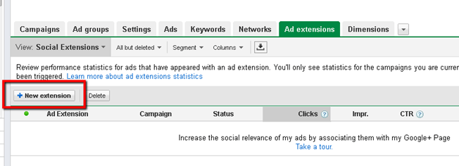 location new extension google adwords